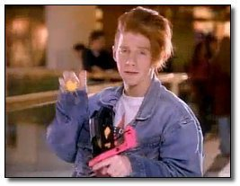 Seth Green in a Nerf ad in the 90s