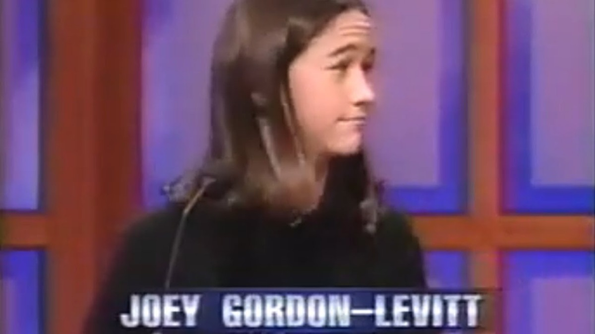 Joseph Gordon-Levitt, Kirsten Dunst, and Kid from the Nanny on Jeopardy '97