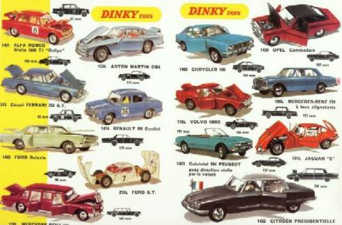 Dinky Cars and Carpet City