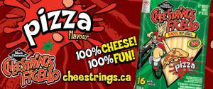 Pizza Flavoured Cheese Strings