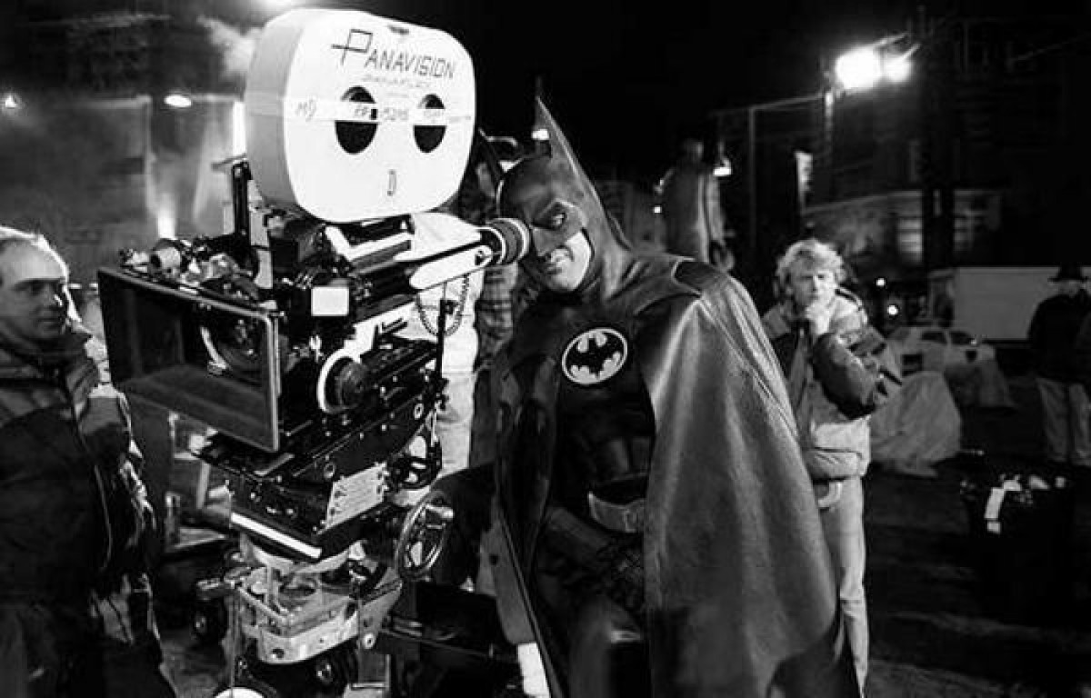 Mostly Batman: Behind The Scenes Comic Book Movie Pictures