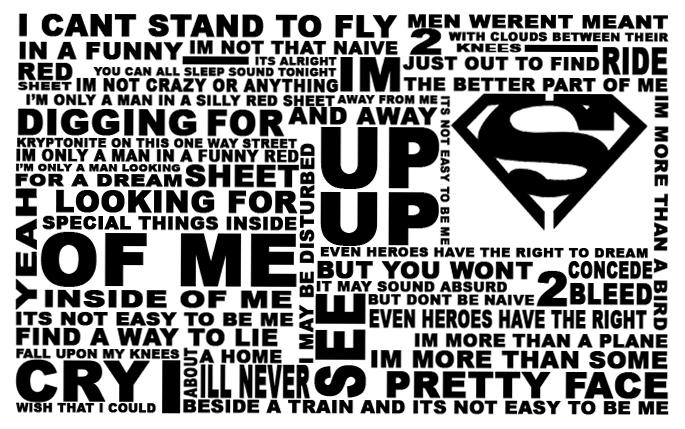 Superman Five For Fighting Sheet Music Keninamas