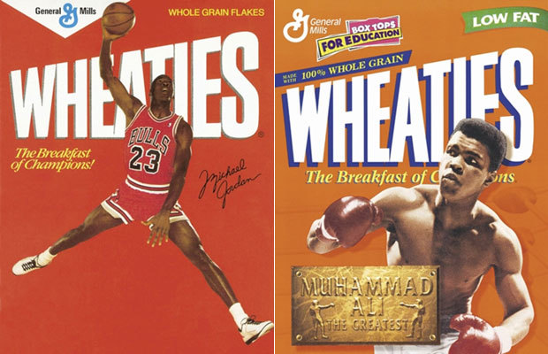 Wheaties Box Athletes | The Nostalgia Blog