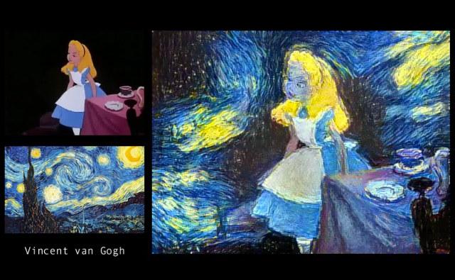 Alice In Wonderland Disney Tea Party Scene